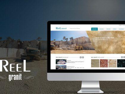 Reel Granit Web Site Tasarımı
