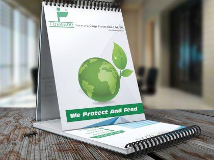 Forward Crop Protection Bloknot Tasarımı