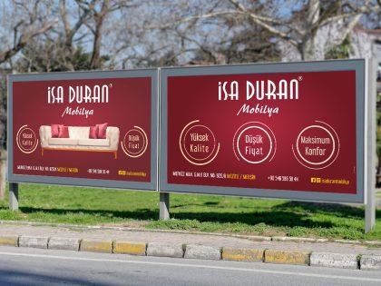İsa Duran Mobilya Açıkhava Billboard Kampanya