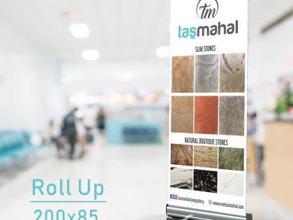 Roll Up Banner Tasarım & Baskı